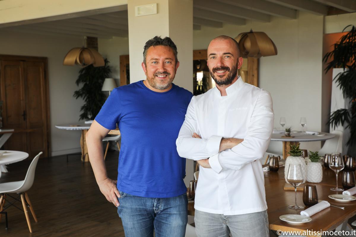 L'Osteria H2O - Moniga del Garda (BS) - Chef/Patron Saulo Della Valle, Pastry Chef/Patron Francesco Della Valle
