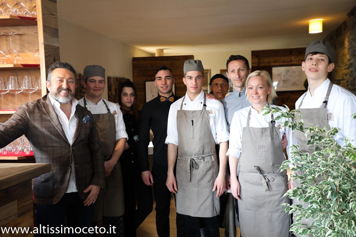 Wood Restaurant - Breuil-Cervinia (AO) - Chef Amanda Eriksson, Patron Cristian Scalco e Amanda Eriksson