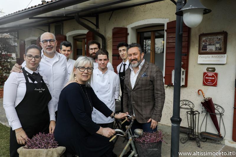 Locanda Baggio - Asolo (TV) - Patron Antonietta Lunardi, Chef/Patron Ermenegildo Baggio