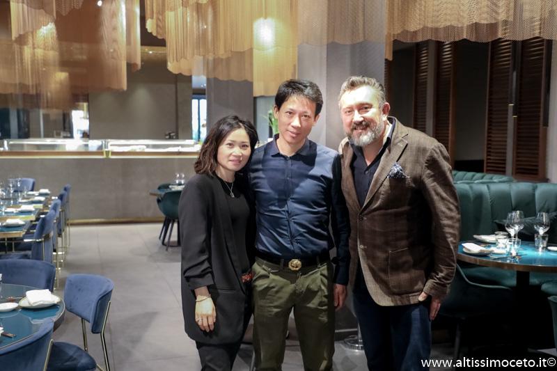 Ristorante Nishiki - Milano - Patron Alessandra Hu eXiaobo Zhou, Chef Peng Yong