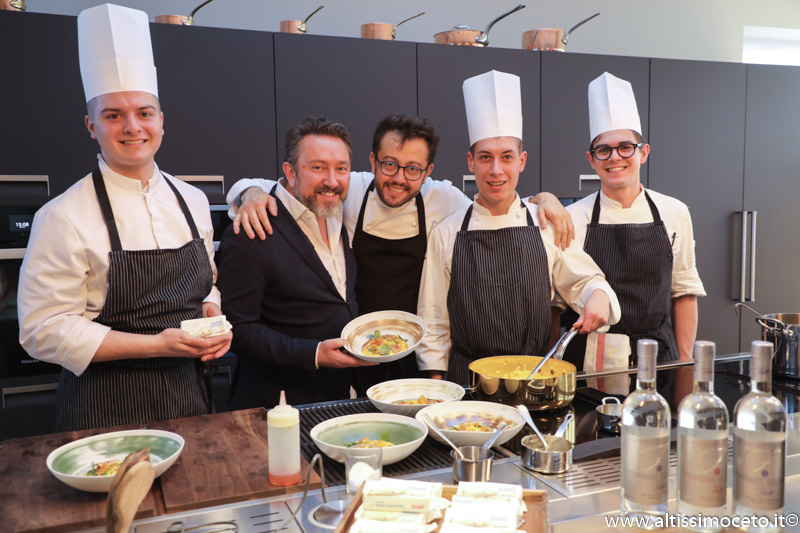 Cartoline dal 878mo Meeting VG @ Il Luogo di Aimo e Nadia – Milano – Chef Fabio Pisani e Alessandro Negrini