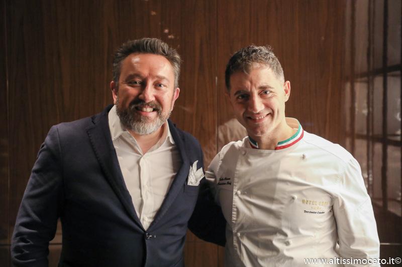 Hotel Eden e Ristorante La Terrazza - Roma - GM Luca Virgilio, Executive Chef Fabio Ciervo