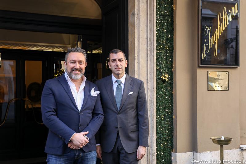 Hotel d'Inghilterra e Ristorante Café Romano – Roma - GM Massimo Colli, Chef Gianluca Graziani
