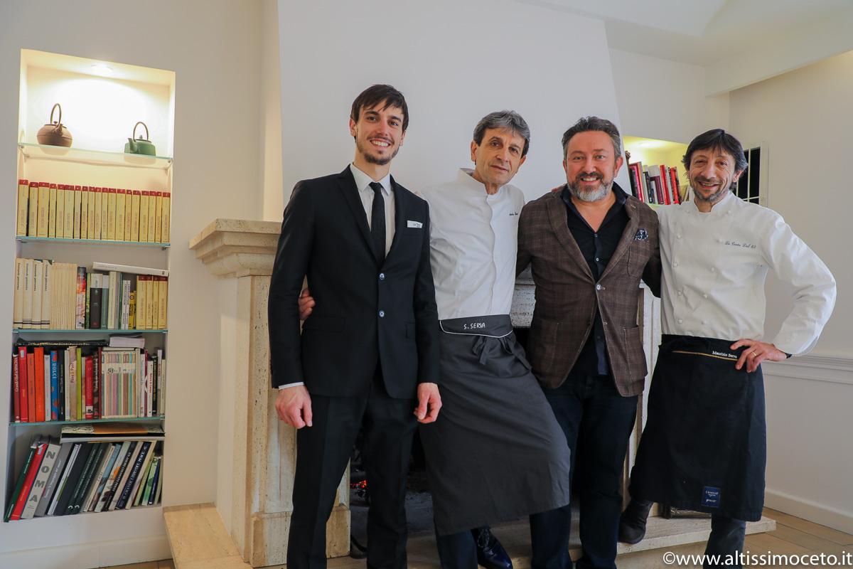 Ristorante La Trota – Rivodutri (RI) – Chef/Patron Sandro e Maurizio Serva