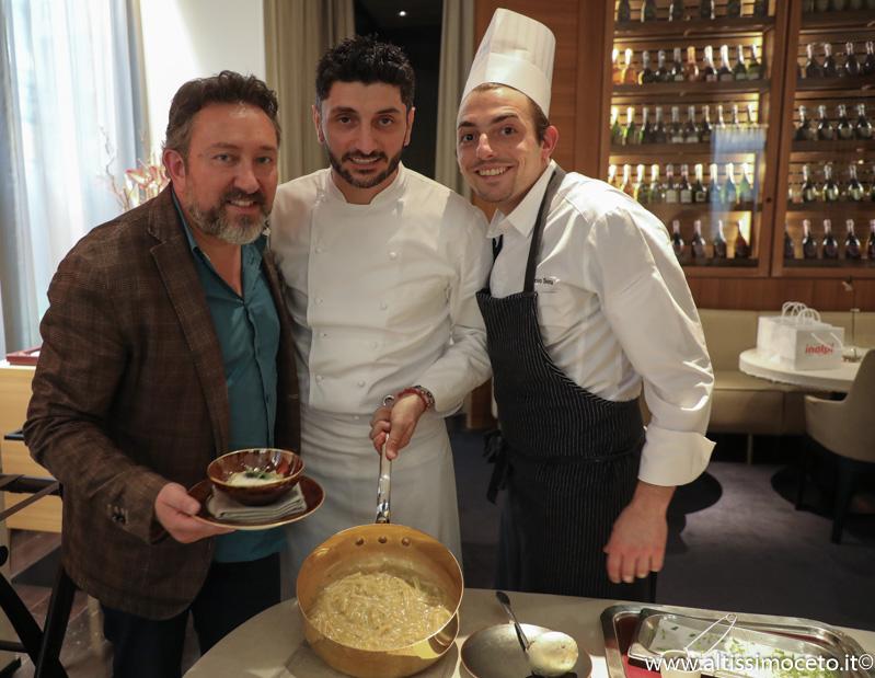 Cartoline dal 883mo Meeting VG @ Ristorante VUN del Park Hyatt Hotel – Milano – Chef Andrea Aprea