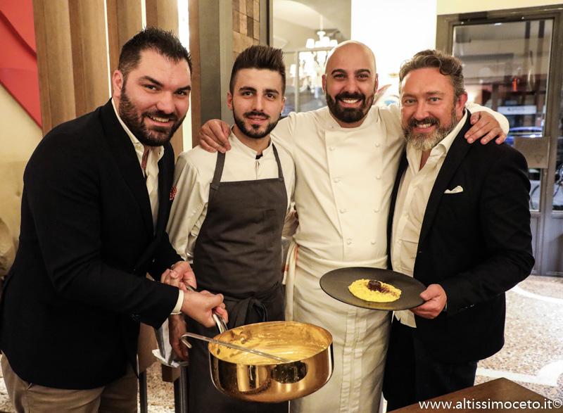 Cartoline dal 890mo Meeting VG @ L'Alchimia Ristorante & Lounge Bar – Milano – Patron Alberto Tasinato, Chef Davide Puleio