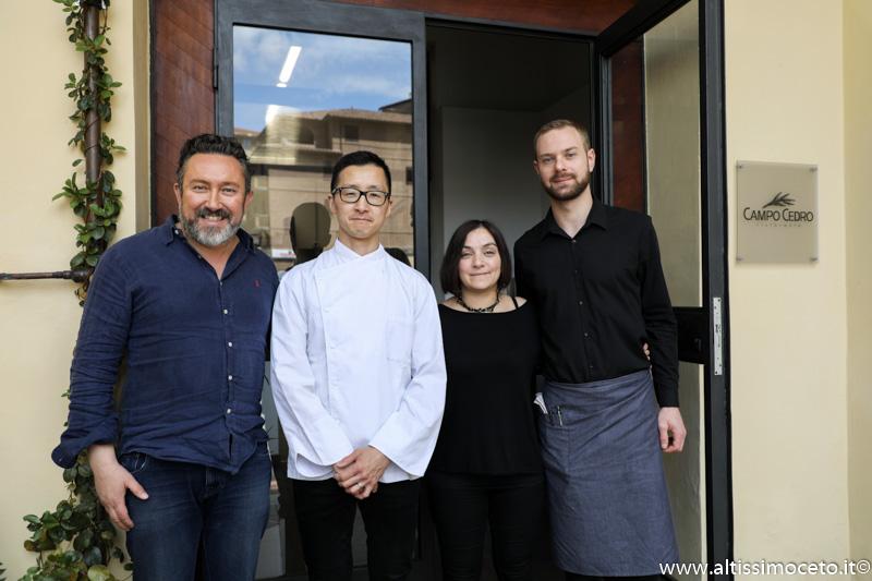 Ristorante Campo Cedro - Siena - Patron Daniela Sedda, Patron/Chef Kohsuke Sugihara