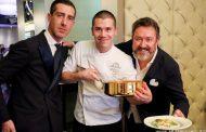 Cartoline dal 886mo Meeting VG @ Terrazza Gallia dell'Excelsior Hotel Gallia – Milano – Chef Vincenzo e Antonio Lebano