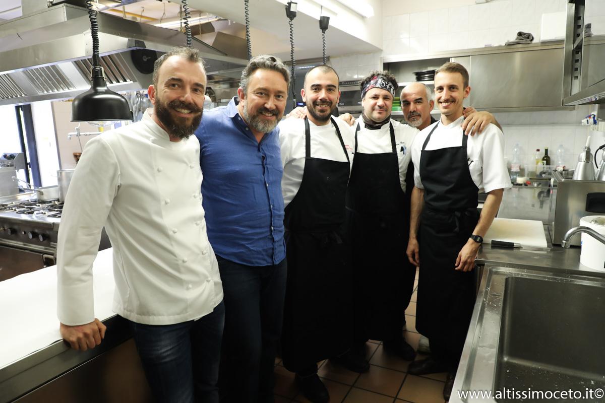 Cartoline dal 892mo Meeting VG @ L'Osteria H2O – Moniga del Garda (BS) – Chef/Patron Saulo Della Valle, Pastry Chef/Patron Francesco Della Valle