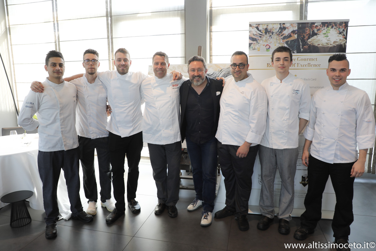 Cartoline dal 887mo Meeting VG @ Ristorante Inkiostro – Parma – Patron Francesca Poli, Chef Terry Giacomello