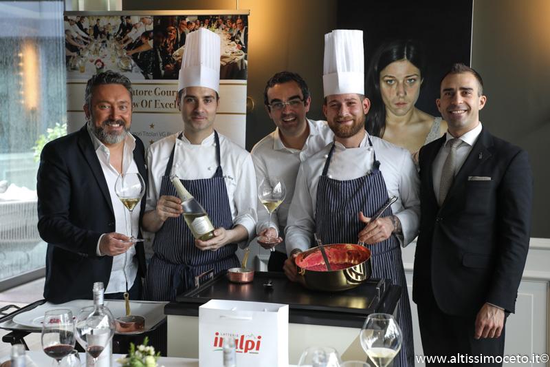Cartoline dal 888mo Meeting VG @ Ristorante Enrico Bartolini al MUDEC – Milano – Chef Enrico Bartolini