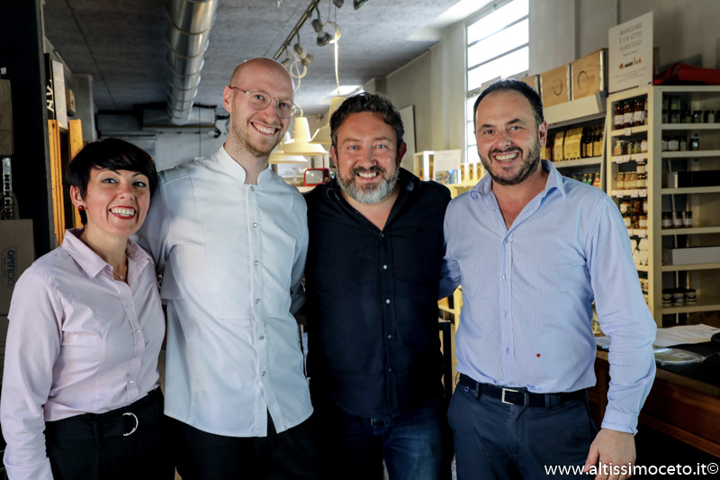 Ristorante Opificio Cucina e Bottega - Novara - Patron Fabio Barozzi, Chef Matteo Borsari