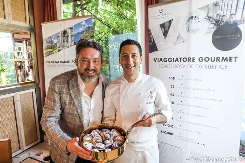 Cartoline dal 902mo Meeting VG @ Ristorante LeoneFelice Vista Lago dell'Albereta – Erbusco (BS) – Chef Fabio Abbattista