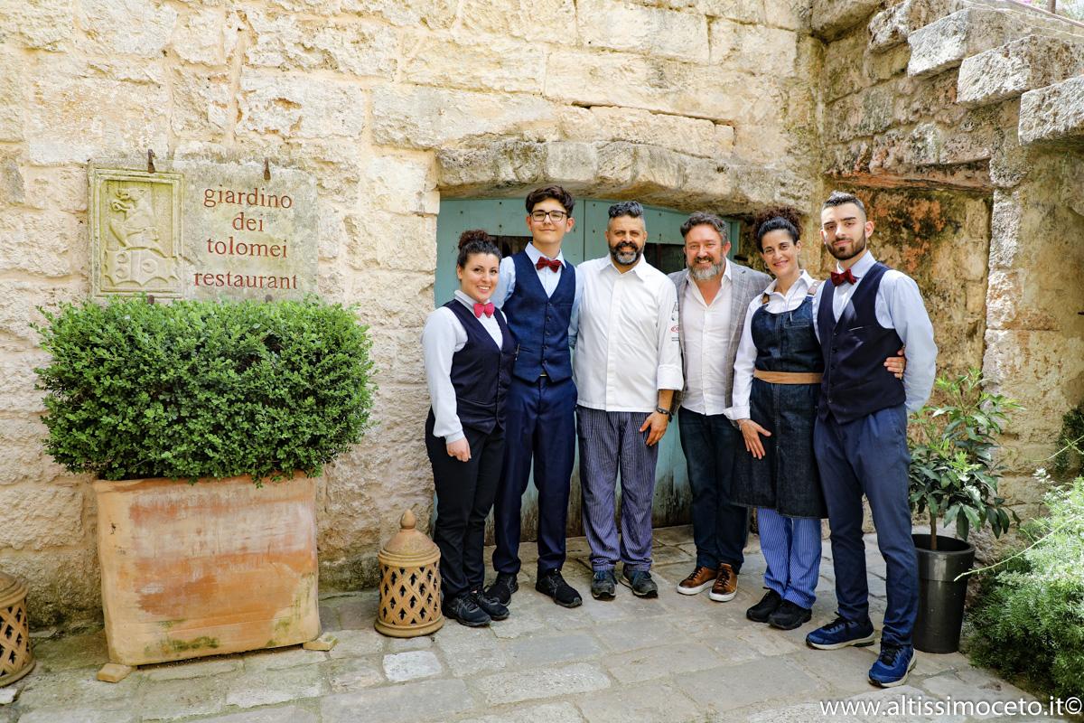 Giardino Dei Tolomei Restaurant - Racale (LE) - Executive Chef Giorgio Trovato