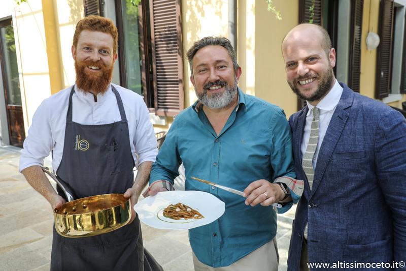 Cartoline dal 907mo Meeting VG @ Casual Ristorante in Città Alta – Bergamo – Patron Enrico Bartolini e Marco Locatelli, Chef Alex Manzoni