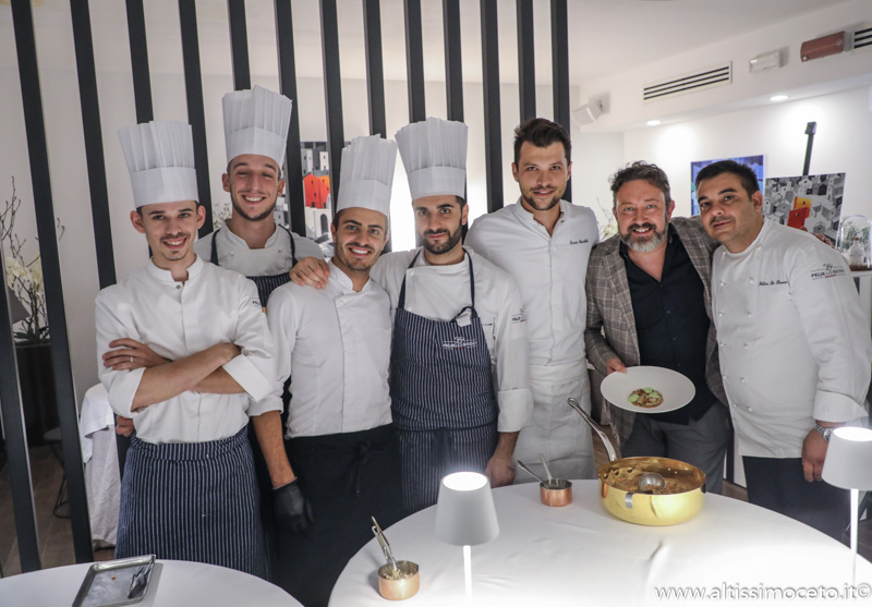 Cartoline dal 905mo Meeting VG @ Felix Lo Basso Restaurant – Milano – Chef Felice Lo Basso