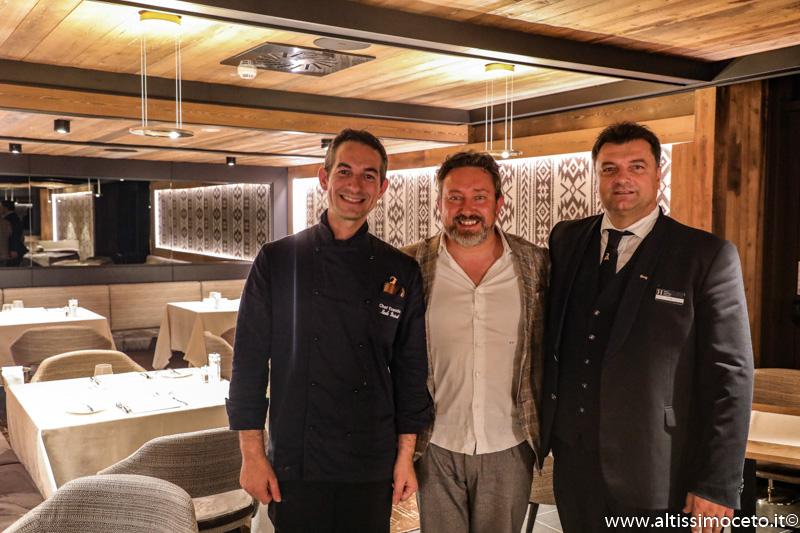 Hotel Le Massif con Ristorante Chétif e Steakhouse Cervo Rosso - Courmayeaur (AO) - Executive Chef Nicola Ricciardi