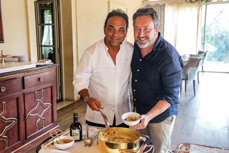 Cartoline dal 909mo Meeting VG @ Ristorante Oseleta del Villa Cordevigo Wine Relais – Cavaion Veronese (VR) – Chef Giuseppe D'Aquino