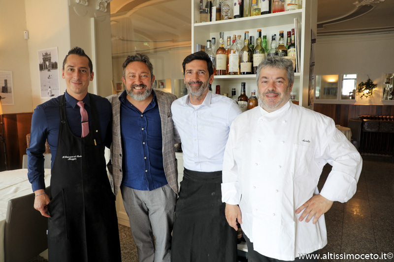 Il Ristorante di Paolo - Menaggio (CO) - Patron Paolo Cagliani, Chef Aurelio Della Torre