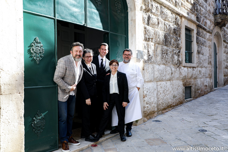 Ristorante Angelo Sabatelli – Putignano (BA) – Chef Angelo Sabatelli