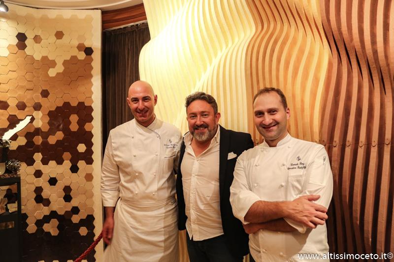Cartoline dal 918mo Meeting VG @ Ristorante La Veranda del Four Seasons Hotel - Milano - Chef Fabrizio Borraccino