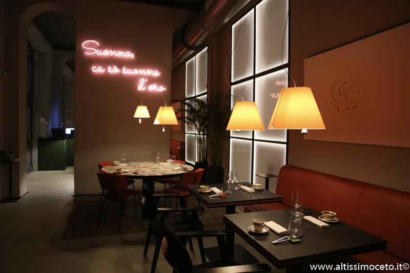 Sine Restaurant - Milano - Patron/Chef Roberto Di Pinto, Patron Martina Ventura