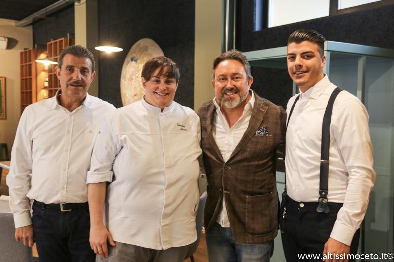 Ristorante Gustare Oltrecucina - Borgomanero (NO) - Patron/Chef Valentina Maioni, Patron Luca Basagni, Manuel Ettoumi