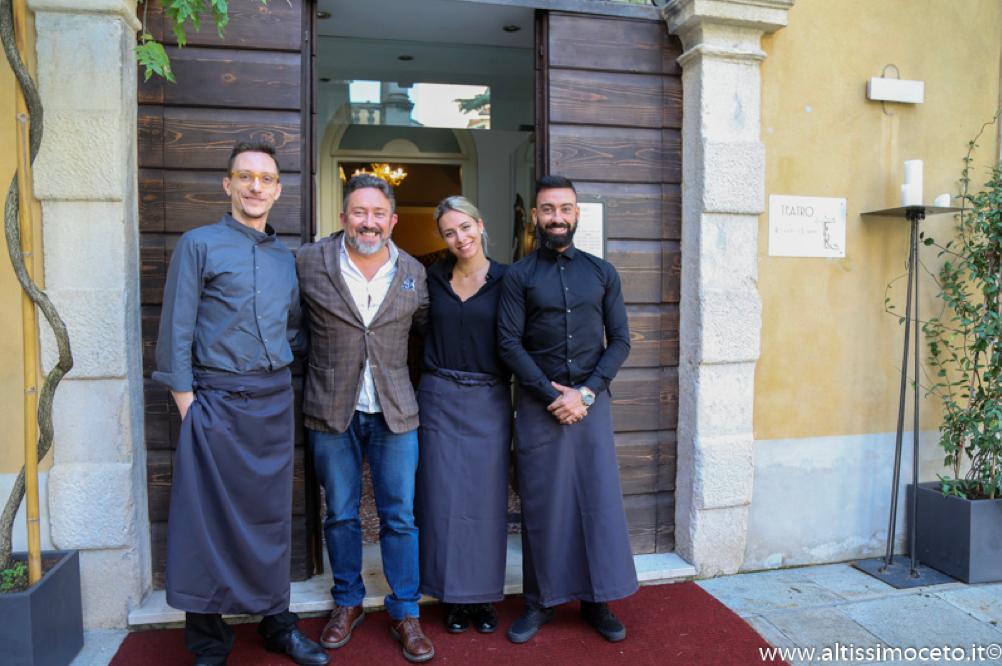 Teatro Ristorante & Lounge - Arzignano (VI) - Chef/patron Elia Consolaro