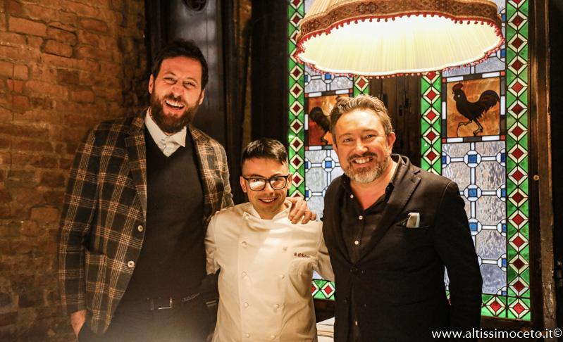 Ristorante Gallo Nero - Siena (SI) - Chef Giovanni D'Ecclesiis - Patron Giovambattista Russo, Rocco Capraro, Luca Russo