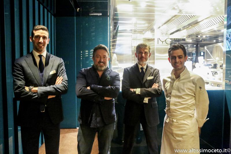IYO AALTO - Milano (MI) - Patron Claudio Liu - Sushi Master Masashi Suzuki
