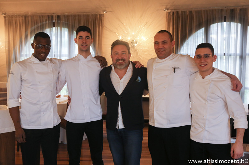 Ristorante Marcelin – Montà d'Alba (CN) – Patron Angelo Valsania - Chef Andrea Ferrucci