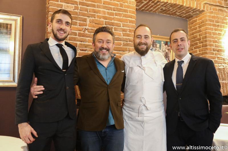 Ristorante Opera Ingegno e Creatività - Torino - Chef Stefano Sforza, Patron famiglia Cometto/Merzagora
