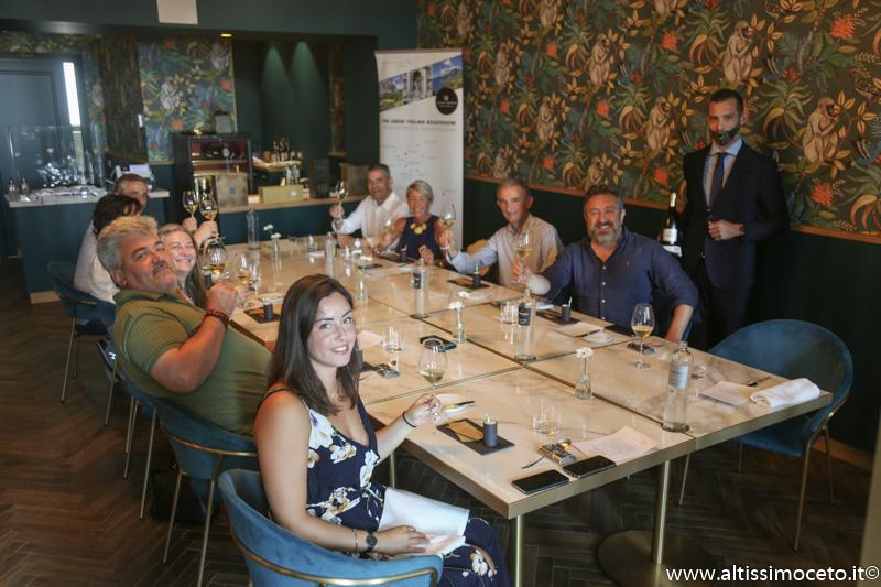 Cartoline dal 950mo Meeting VG @ AL Malò Cucina e Miscelazione - Rovato (BS) - Chef/Patron Mauro Zacchetti, Patron Lodovico Calabria e Alberto Bergomi