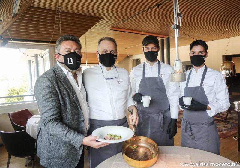 963mo Meeting VG @ La Peca - Lonigo (VI) - Chef Nicola Portinari , Maitre Pierluigi Portinari
