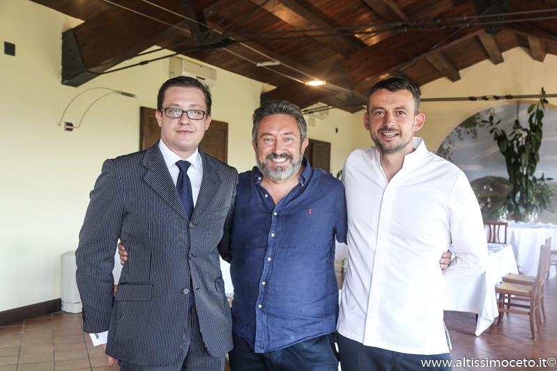 Ristorante San Genesio -  Castagneto Po (TO) - Patron Simone Capello, chef Gianni Spegis